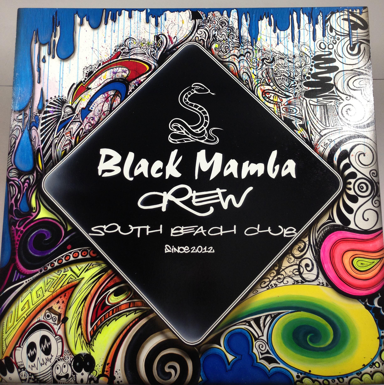 Scenografia Black Mamba crew