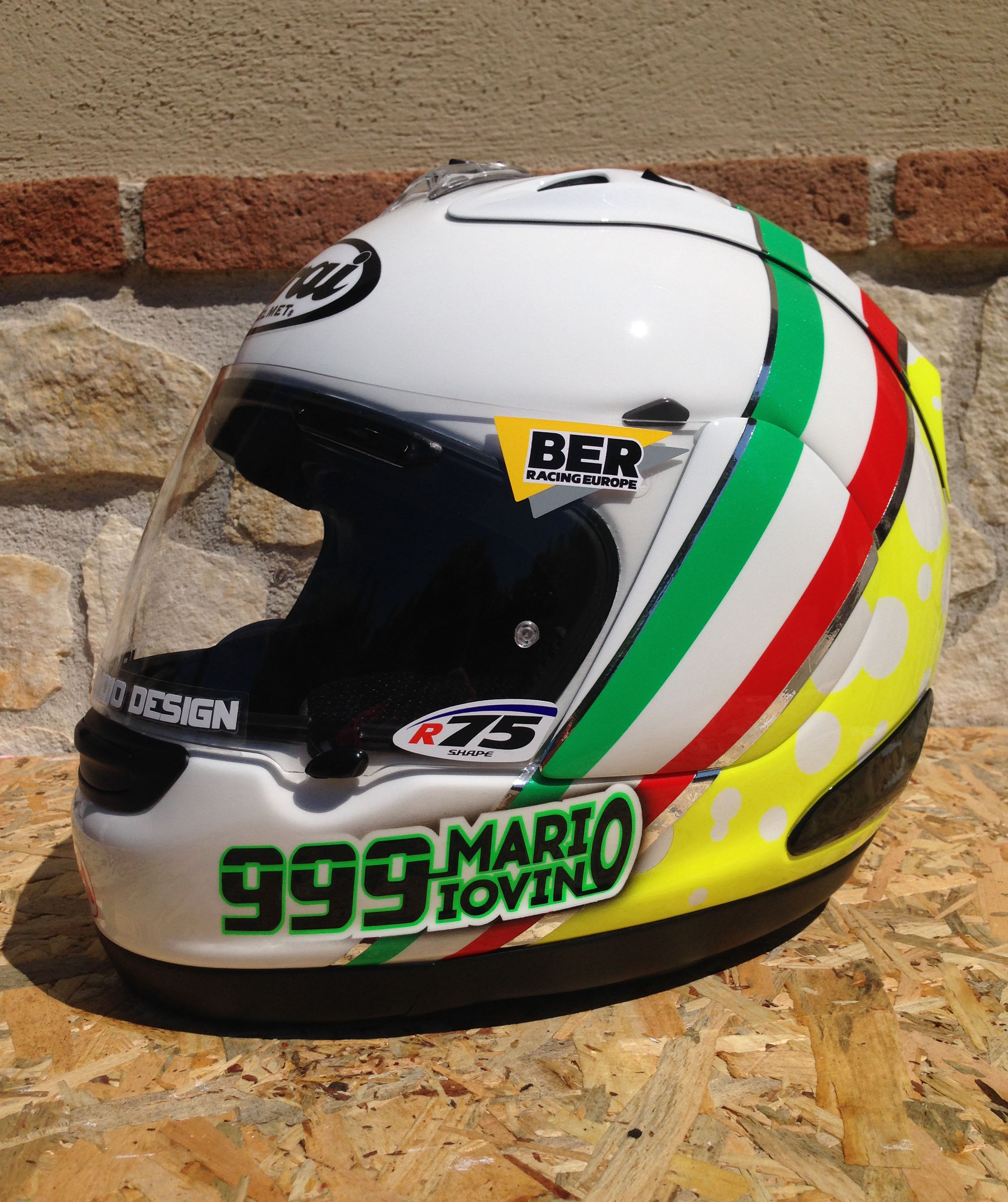 Arai RX-7 GP Mario Iovino