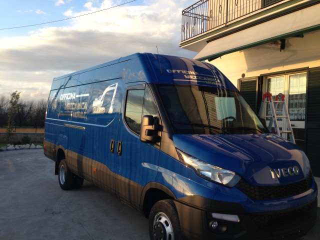 Iveco Daily officina mobile
