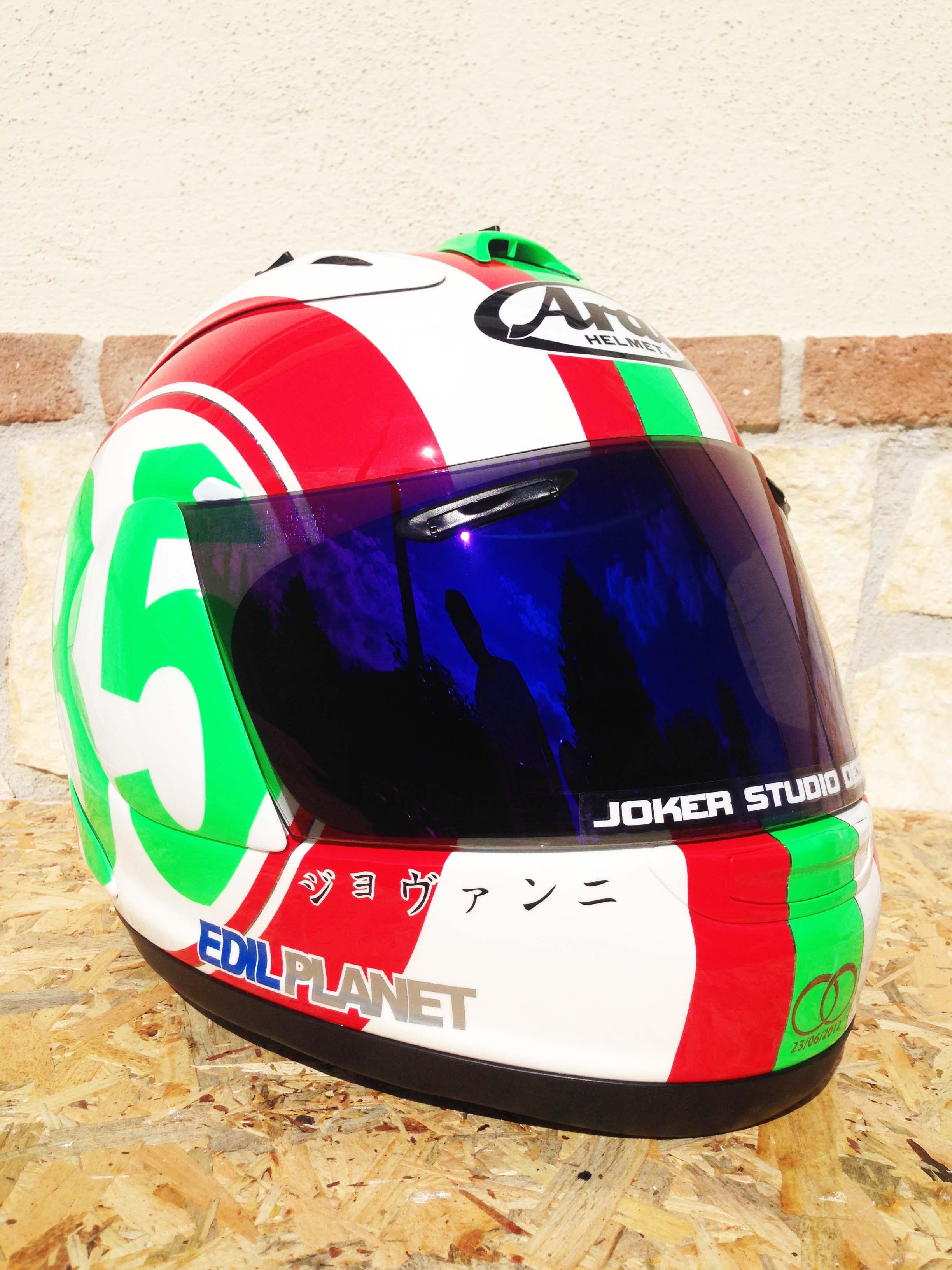 ARAI RX-7 GP Antonio Masucci
