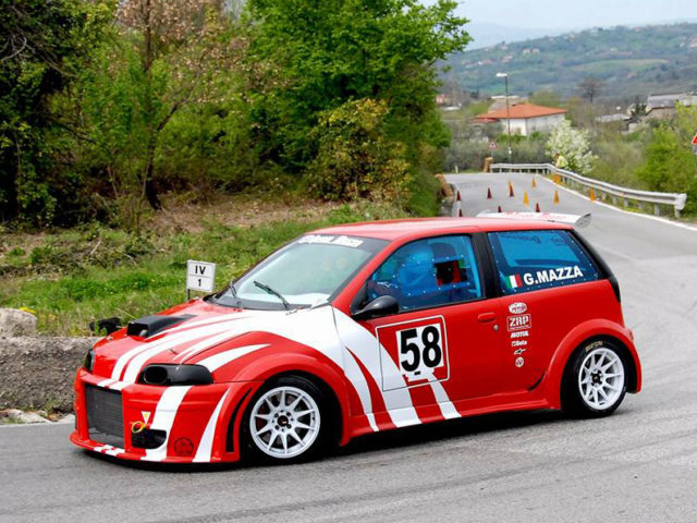 Fiat Punto GT prototipo cronoscalata – slalom
