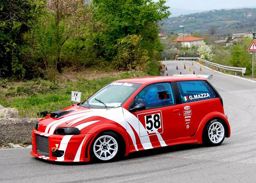 Fiat Punto GT prototipo cronoscalata - slalom